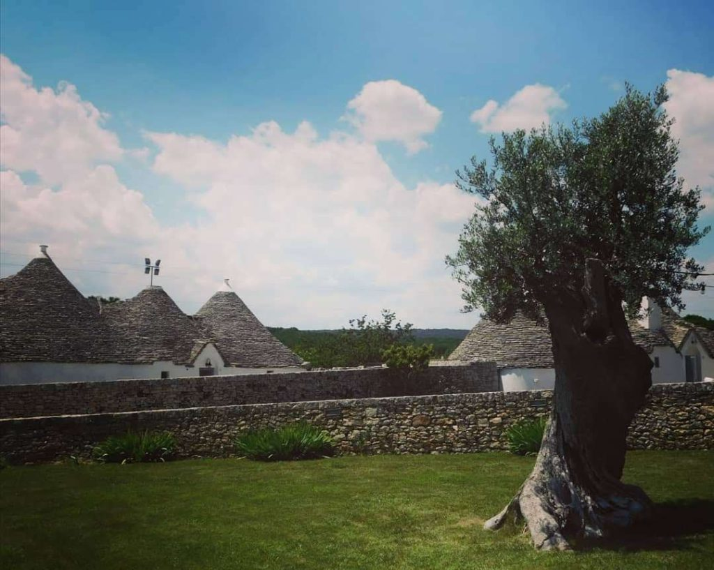A destination wedding location in Puglia
